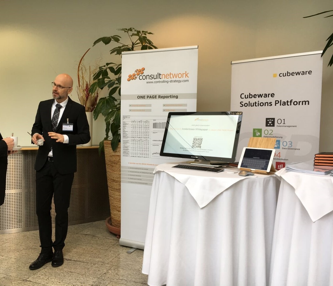 consultnetwork auf der Business Intelligence Konferenz in Wien